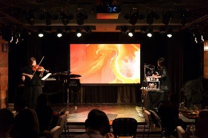 松田理奈が子供たちとのコラボで魅せる『OTOART vol.3「MUSIC × ALIVE PAINTING」』写真付きレポート