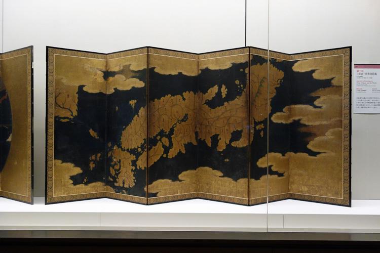 重要文化財《日本図・世界図屛風》安土桃山~江戸時代・16~17世紀(前期展示)