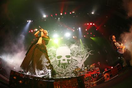 VAMPSが『UNDERWORLD』ツアー大阪公演を映像作品化 仙台PIT公演のオフィシャルレポも到着