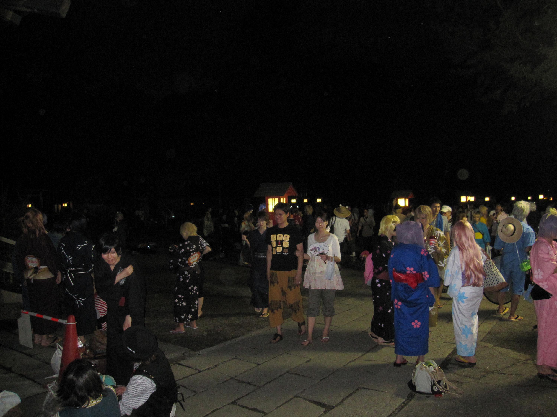 2012年土師祭。筆者撮影
