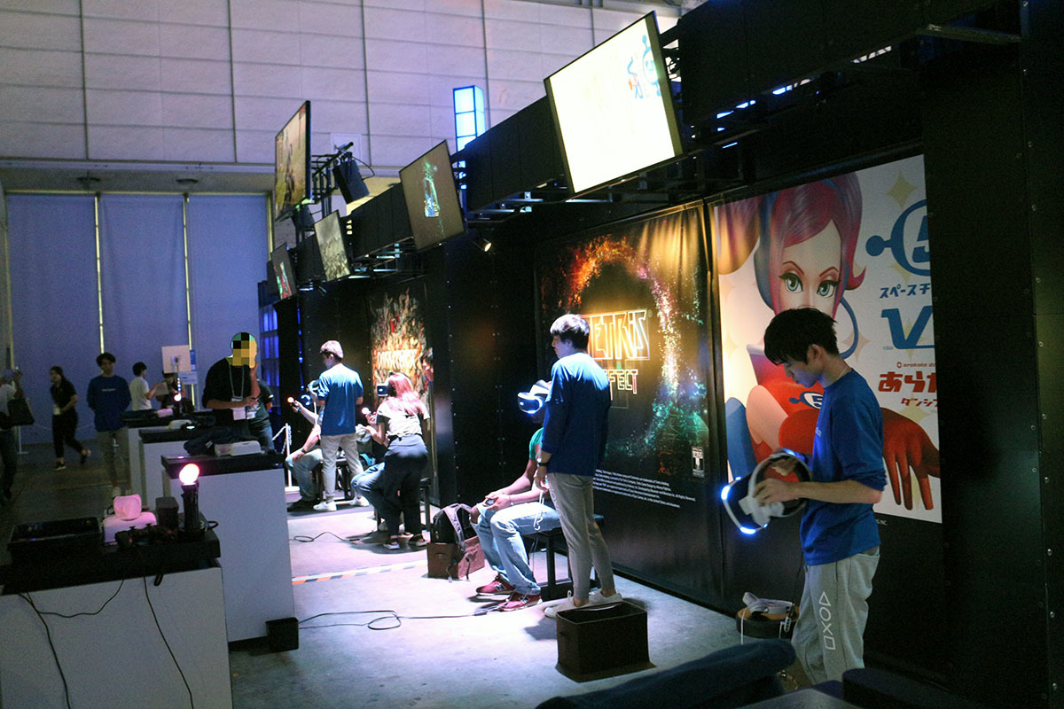 VRゲームはたくさんあり、数をこなせなかった/撮影:梅田勝司