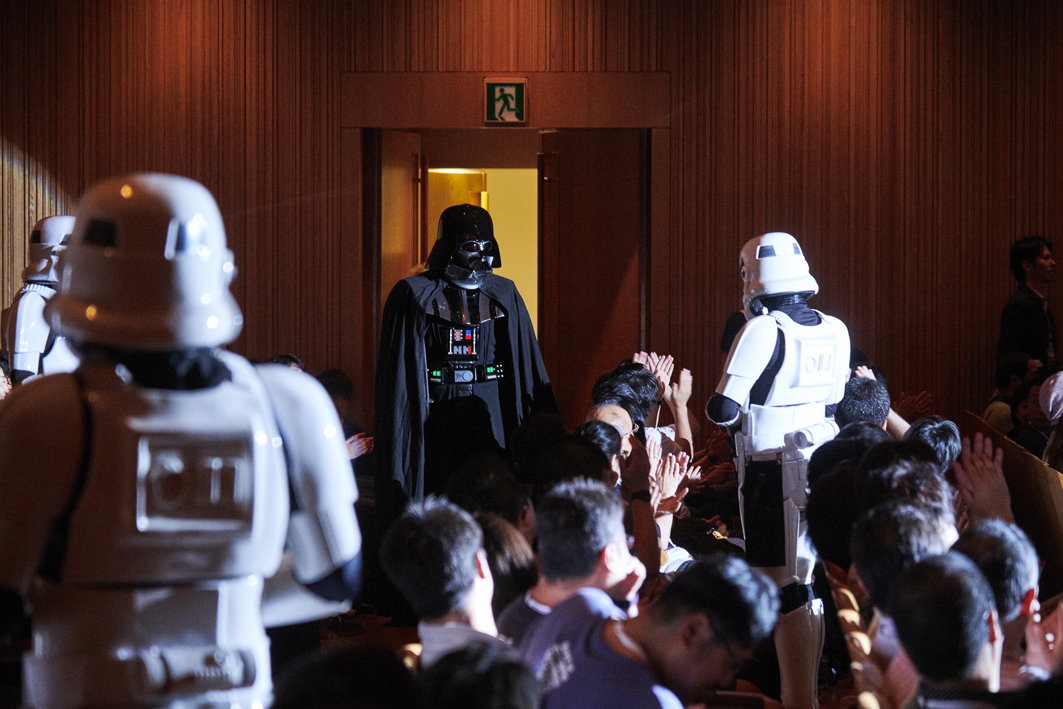 Presentation licensed by DISNEY CONCERTS in association with 20th  Century Fox, Lucasfilm and Warner/Chappell Music.   (C) 2018 & TM LUCASFILM LTD. ALL RIGHTS RESERVED (C) DISNEY PHOTO:星野麻美