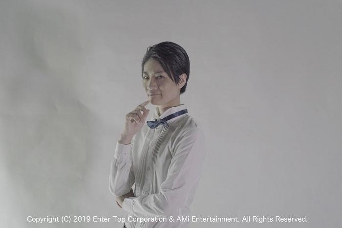 シャーロック・ホームズ役 冨田亜紗子