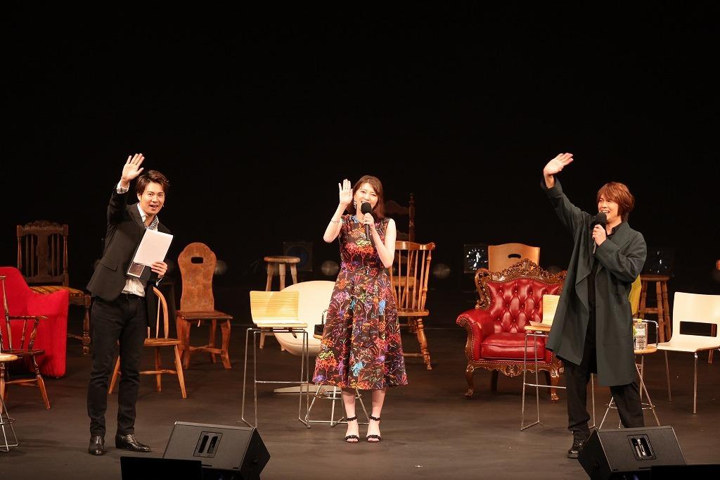 (左から)平方元基、朝夏まなと、浦井健治 Photo:Yutaka Nakamura