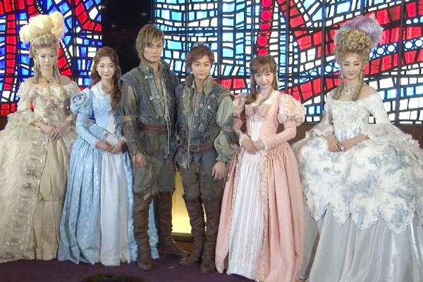 ミュージカル「1789 -バスティーユの恋人たち-」初日前会見より