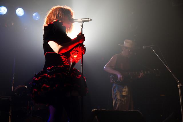 "EGO-WRAPPIN'「live tour ""Dream Baby Dream""」7月3日の神奈川・Yokohama Bay Hall公演の様子。(撮影:仁礼博)"