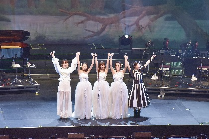 Kalafina・茅原実里・May'nが「鳥の詩」を熱唱 『Songful days』無事に終演