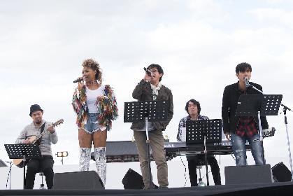 クリスタル・ケイ、佐藤竹善、Kが世界遺産の前で歌う 3組によるスペシャルセッションも