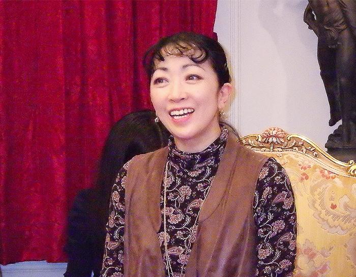 斎藤友佳理芸術監督  (撮影=西原朋未)