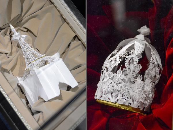 左/《エッフェル塔》 右/《王冠》