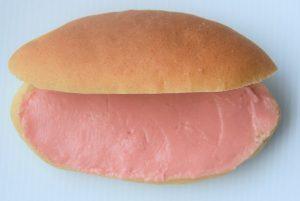 「赤き血潮のコッペパン(いちごバター)」