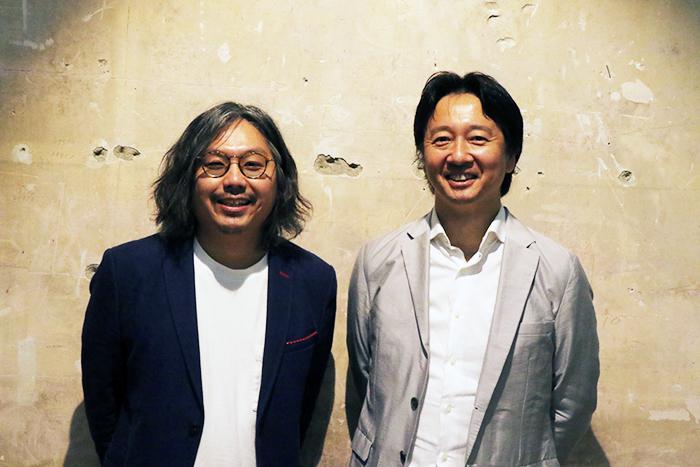 (左から)岩上紘一郎・梶原涼晴