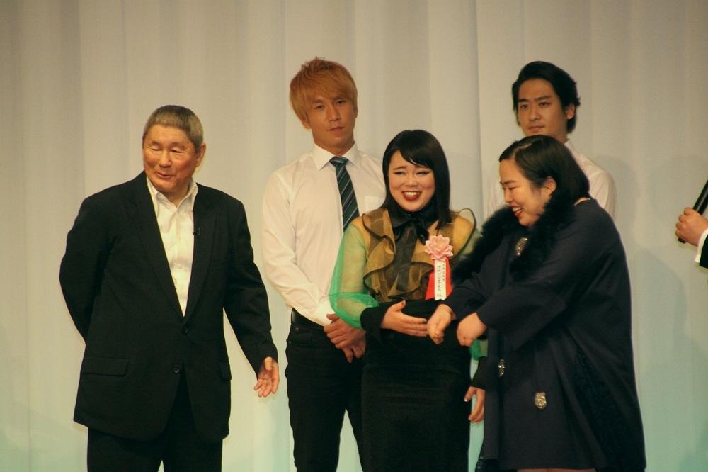日本芸能賞を受賞したブルゾンちえみ、ゆりやんレトリィバァ