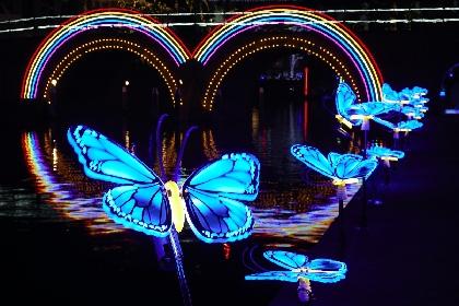 ハウステンボスの運河をカラフルな光とアートが彩る「カナルアートフェスティバル」初開催