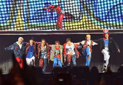 GENERATIONS、45万5千人を動員し初のドームツアーを完走 セットリストアルバムの配信が決定