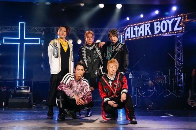 『ALTAR BOYZ 2021』  撮影:小境勝巳