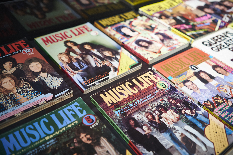 MTVもインターネットもない時代、音楽小僧たちの貴重な情報源だった音楽雑誌