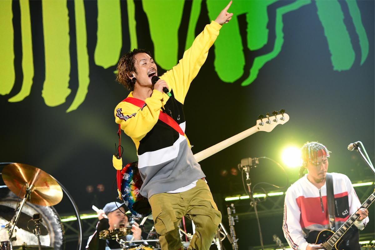 WANIMA   ©テレビ朝日 ドリームフェスティバル 2018 / 写真:岸田哲平
