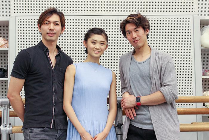 (左から)井澤駿 木村優里 福岡雄大 (撮影:西原朋未)