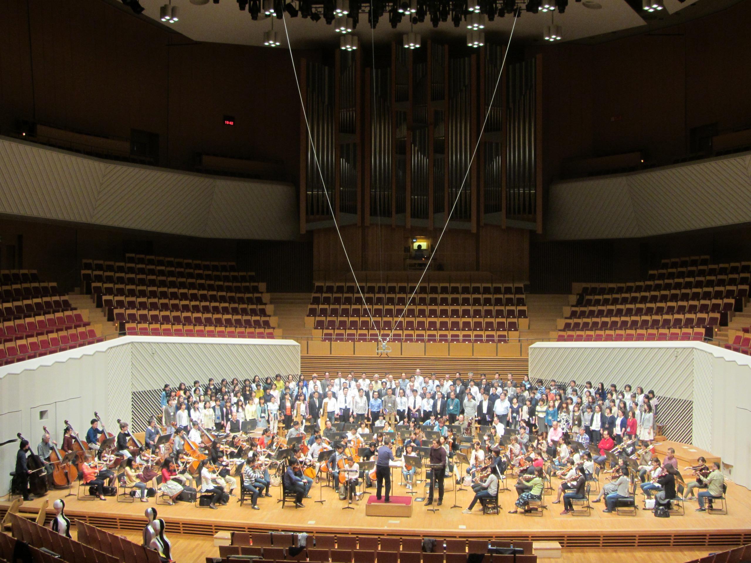 空間に、立体的に鳴り響く音楽は演奏会だけのものだ 提供:東京交響楽団