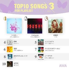 Official髭男dismの『恋つづ』主題歌が連続1位獲得 「AWA」2020年3月度のプレイリスト採用楽曲ランキングを発表