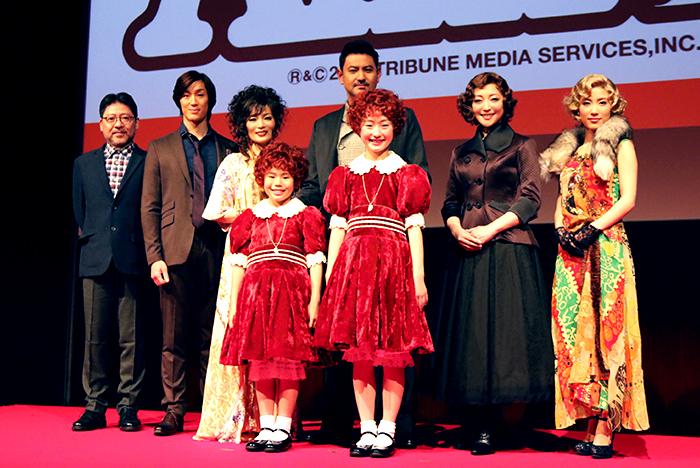 演出家と出演者たち