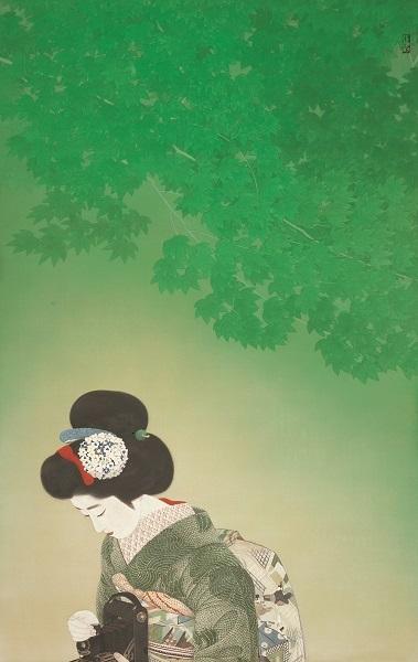 ≪戯れ≫昭和4年(1929) 東京国立近代美術館