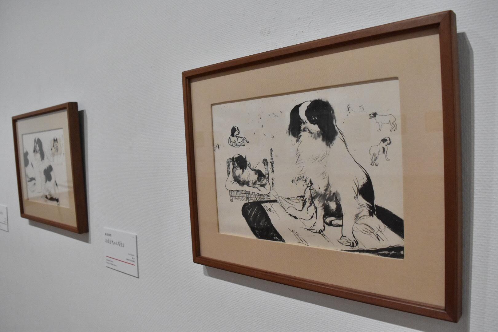 岡本神草 《お貞子ちゃん写生1》 大正3(1914)年 京都国立近代美術館