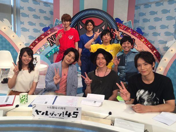 7月3日に放送されたtvk「猫のひたいほどワイド」の様子。