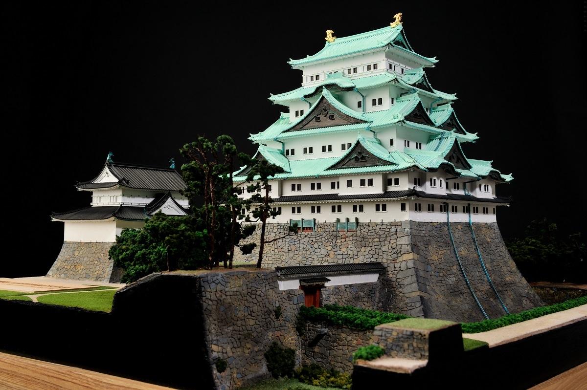 模型作家 中上義邦氏製作「名古屋城の模型」