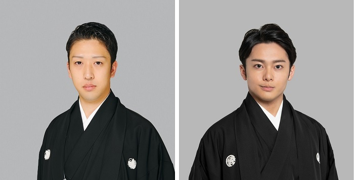 (左から)中村梅枝、中村莟玉