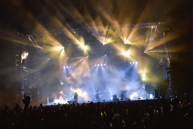 サカナクション (C)RISING SUN ROCK FESTIVAL 撮影:古渓一道