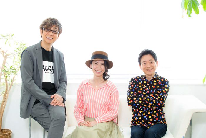 (左から)山寺宏一、三石琴乃、水島裕