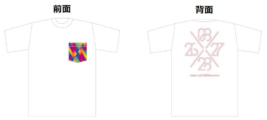 Tシャツ付きの限定早割3日通し券