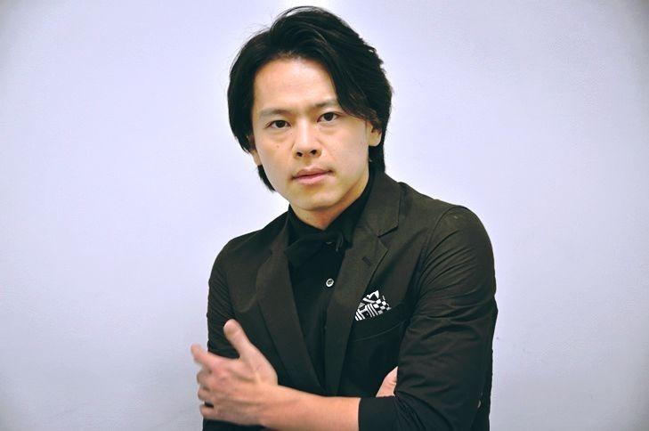 『ジャージー・ボーイズ』でフランキー・ヴァリを演じる中川晃教。 [撮影]吉永美和子
