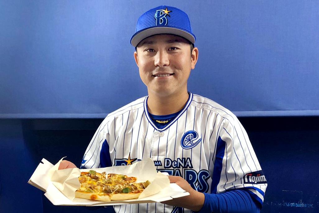 『スパイシーグリルチキンのキャプテンピザ』は「&9」で提供されているオリジナルピザ