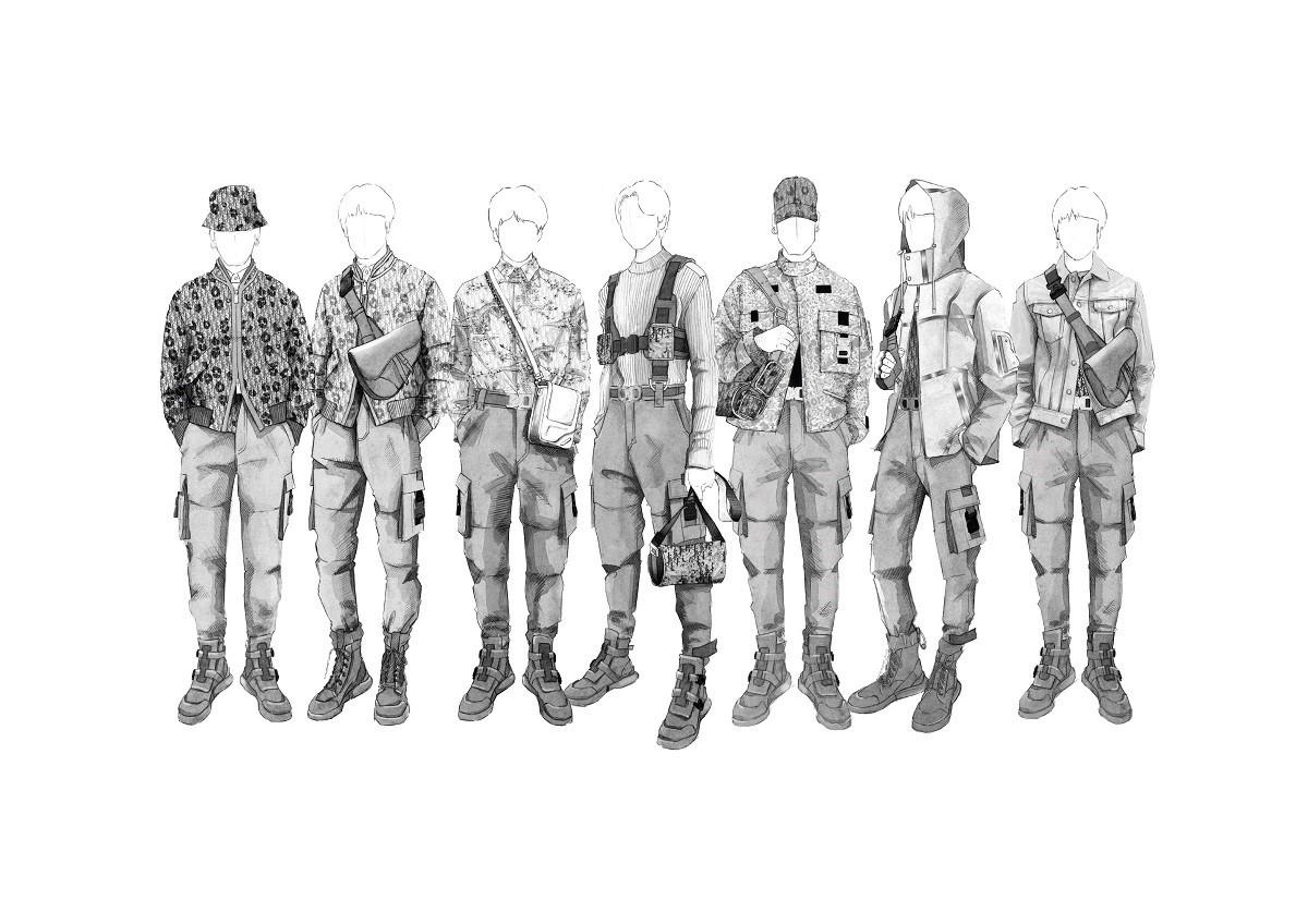 BTS (C)Dior