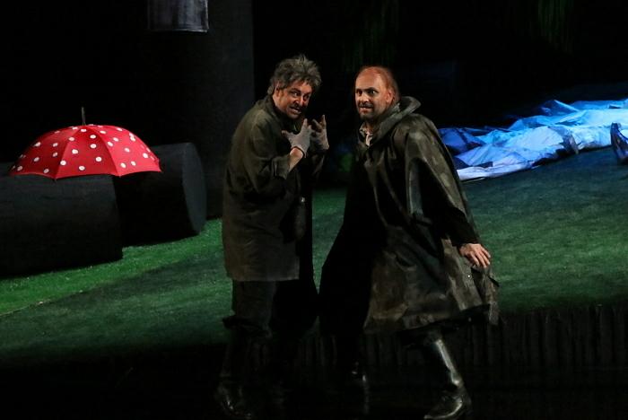 新国立劇場オペラ『ジークフリート』ゲネプロより ミーメ、アルベルヒ