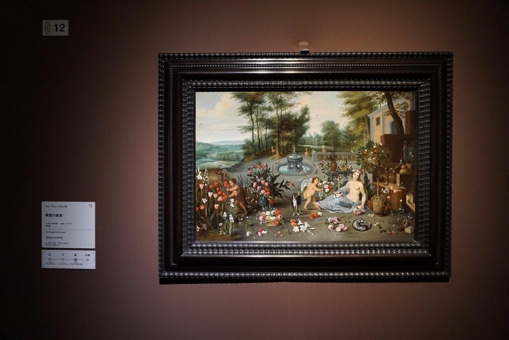《嗅覚の寓意》ヤン・ブリューゲル2世 1645-1650年頃