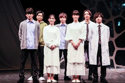 劇団Patch、谷村美月、入山法子が大阪公演前日の記者会見で舞台『マインド・リマインド〜I am…〜』への意気込みを語る