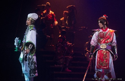 八神蓮、秋沢健太朗、谷口賢志ら出演 舞台『真・三國無双 赤壁の戦い』が開幕 公開ゲネプロの舞台写真が到着