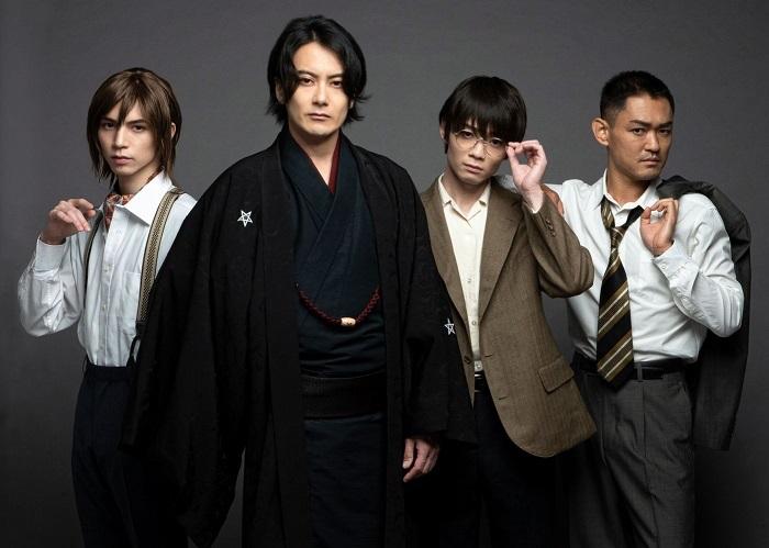 (左から)北村諒、小西遼生、神澤直也、吉田雄