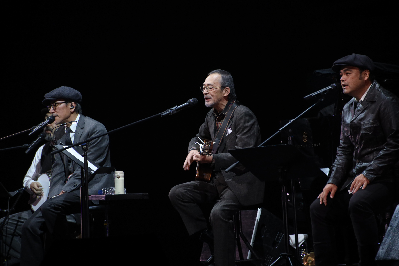 高橋幸宏、小坂忠、BEGIN  Photo by 三浦麻旅子