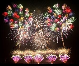 豪華絢爛の花火が千葉の夜空を彩る 関東で珍しい二尺玉の花火が打ち上がる『佐倉花火フェスタ』