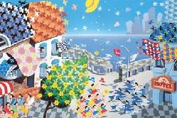 escher×日本テセレーションデザイン協会 ポストカード 120 円(税込)