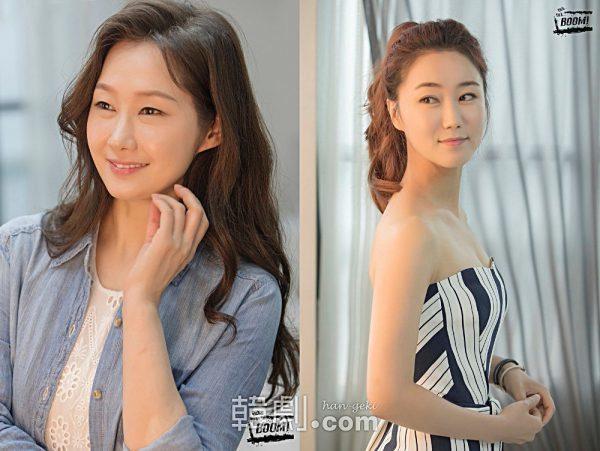 スーザン役のぺ・ヘソン(左)とチョン・ヨン