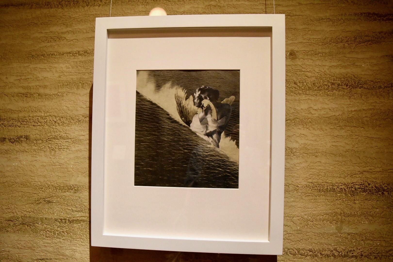 岡上淑子 《海のレダ》 1952年