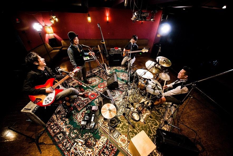 THEイナズマ戦隊 アコースティックツアー東京公演にカルメラのホーン隊
