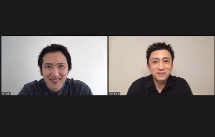 松本幸四郎×尾上松也オンラインインタビュー 『歌舞伎家話』に向けた、率直な思いと意気込み