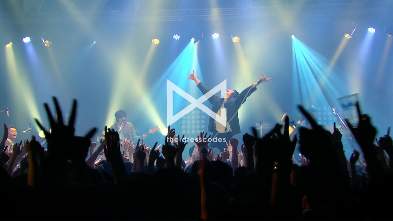 """ドレスコーズ DVD/BD『SWEET HAPPENING 〜the dresscodes 2015 """"Don't Trust Ryohei Shima""""JAPAN TOUR〜』より"""